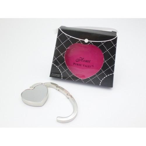 Heart Purse Valet Compact Hook